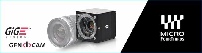 マイクロフォーサーズ規格対応高速カメラ[ギガビットイーサネットカメラ-GigE-]